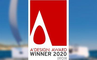 Vaan R4 receives A'Design Award